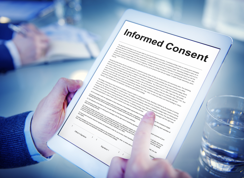 benefits eConsent trial participant consent
